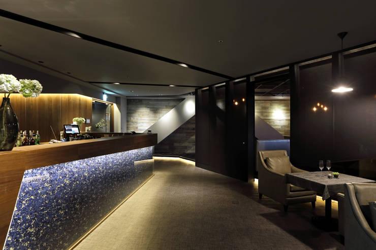 BELLO餐廳:  商業空間 by 大言室內裝修有限公司