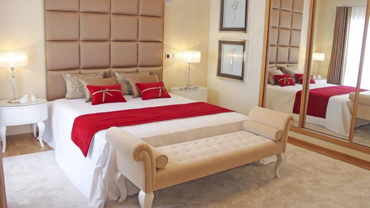 غرفة نوم تنفيذ GRAÇA Decoração de Interiores