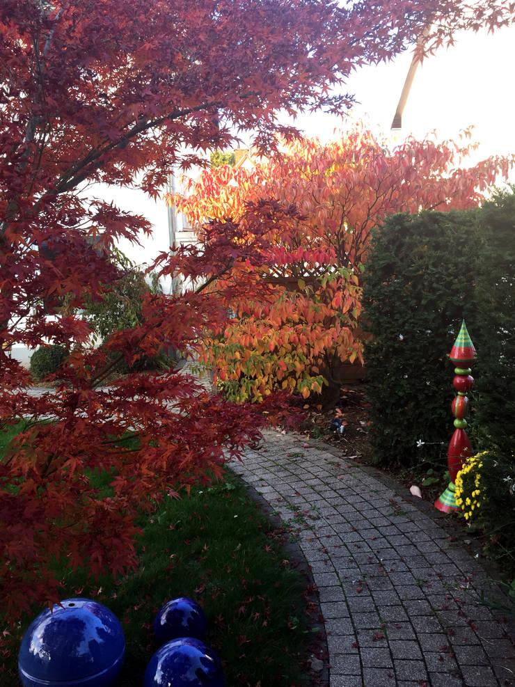 Herbstliches Farbenspiel:  Garten von dirlenbach - garten mit stil,