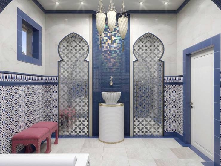 META-architects архитектурная студияが手掛けた浴室