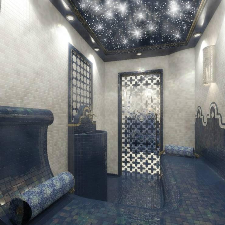 Дизайн интерьера в двухэтажном коттедже: Спа в . Автор – META-architects архитектурная студия