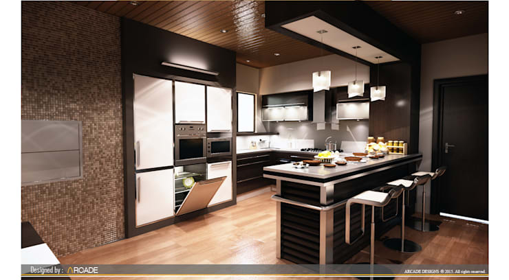 Kitchen by ARCADE DESIGNS