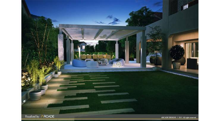 Balconies, verandas & terraces  by ARCADE DESIGNS