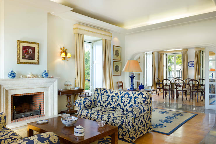 Living Room: Salas de estar  por Pedro Brás - Fotografia de Interiores e Arquitectura | Hotelaria | Imobiliárias | Comercial