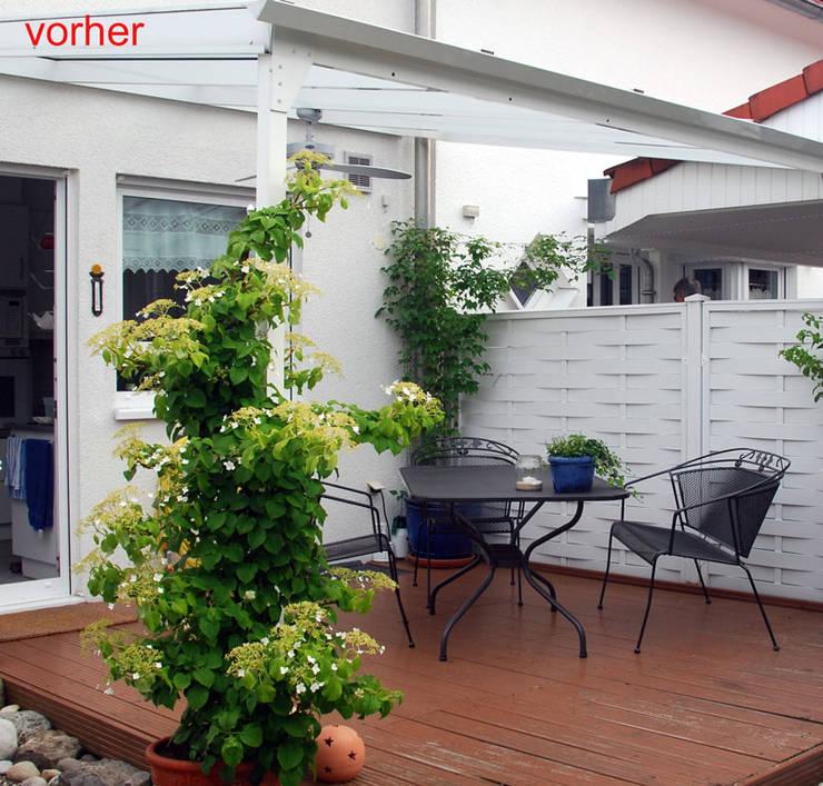 Renovierung einer Terrasse und des umgebenden Gartens von Sabine ...