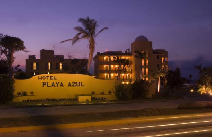 HOTEL PLAYA AZUL: Casas de estilo  por Diseño Aplicado Avanzado de Guadalajara
