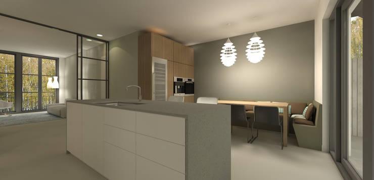 kookeiland modern:  Keuken door Studio DEEVIS, Modern