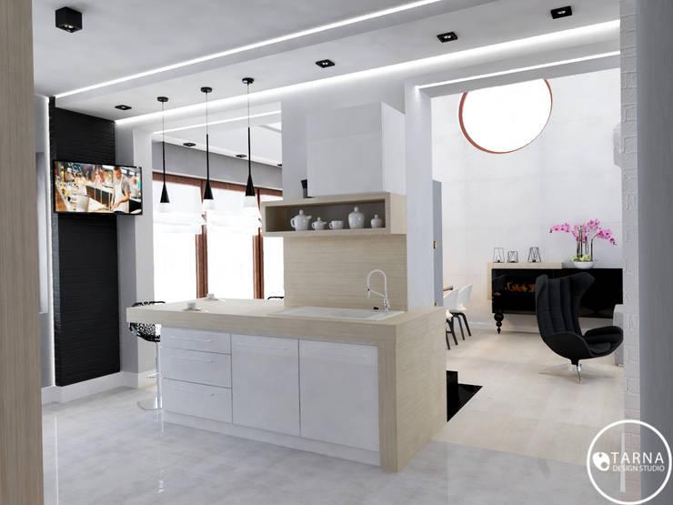 Gdańska Przystań: styl , w kategorii Kuchnia zaprojektowany przez Tarna Design Studio