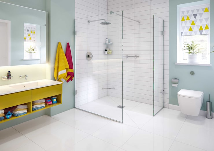 Bathroom by White Crow Studios Ltd