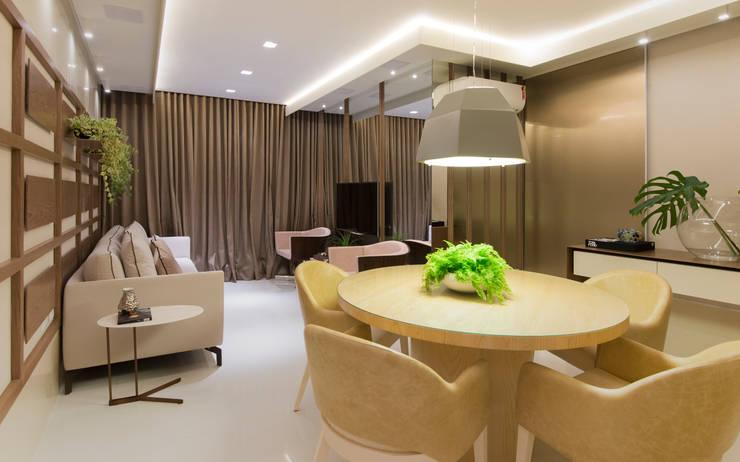Salas de jantar  por Matheus Menezes Arquiteto