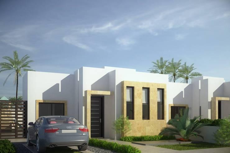 Projekty,  Domy zaprojektowane przez Gestec