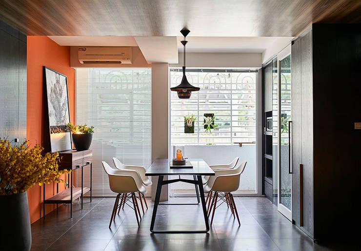 和平27:  餐廳 by DYD INTERIOR大漾帝國際室內裝修有限公司
