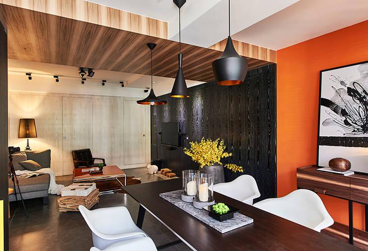 和平27:  客廳 by DYD INTERIOR大漾帝國際室內裝修有限公司