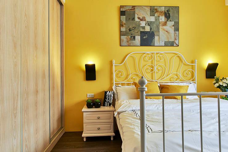 和平27:  臥室 by DYD INTERIOR大漾帝國際室內裝修有限公司