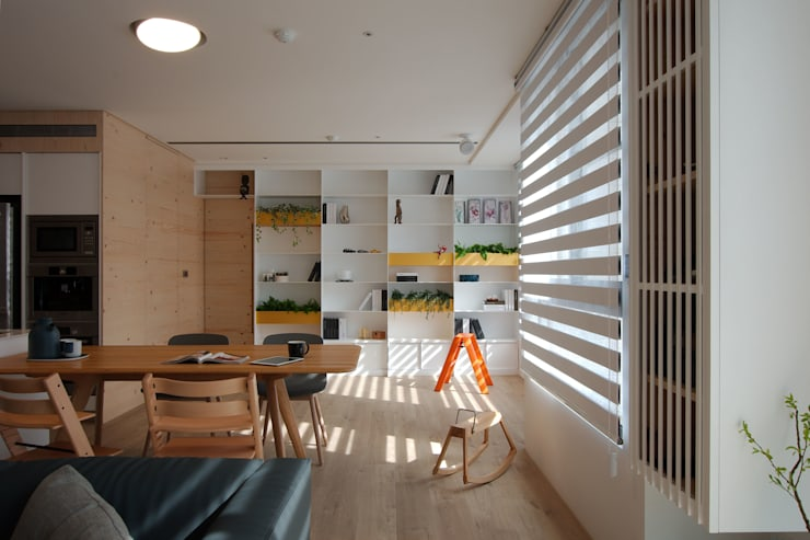 Childlike - House M:  餐廳 by 六相設計 Phase6