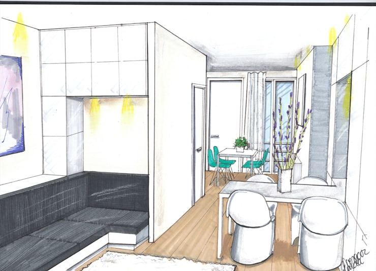 Verbouwing geheel pand Singel te Amsterdam Keuken:   door LINDESIGN Amsterdam Ontwerp Design Interieur Industrieel Meubels Kunst