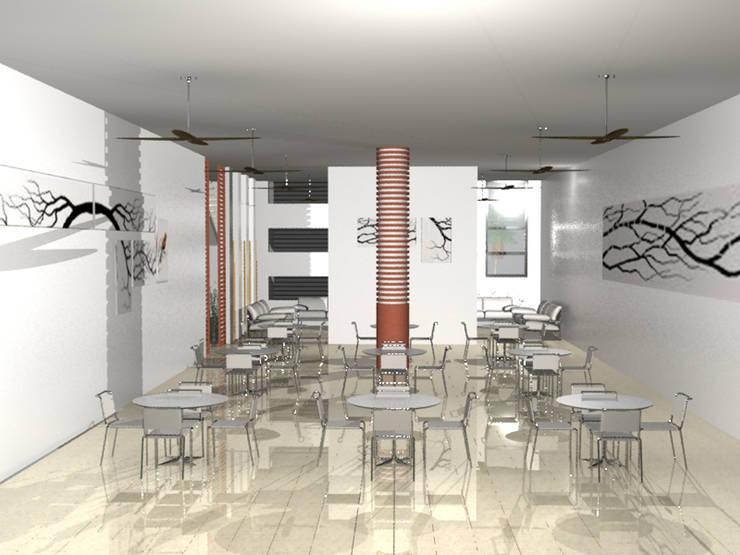 VISTA INTERIOR 4 :  de estilo  por EDUARDO NOVOA ARQUITECTO INDEPENDIENTE