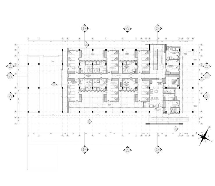 PLANTA PISO 2 :  de estilo  por EDUARDO NOVOA ARQUITECTO INDEPENDIENTE , Minimalista