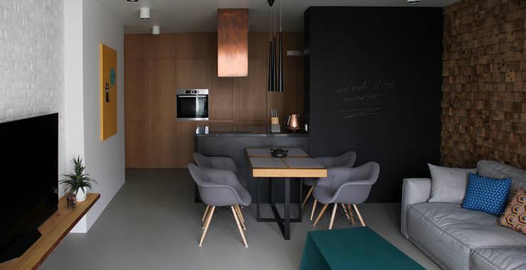 Living room by Мастерская Grynevich Dmitriy
