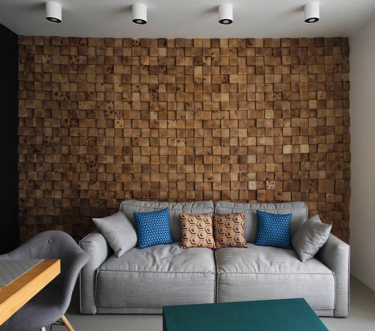 minimalistic Living room by Мастерская Grynevich Dmitriy