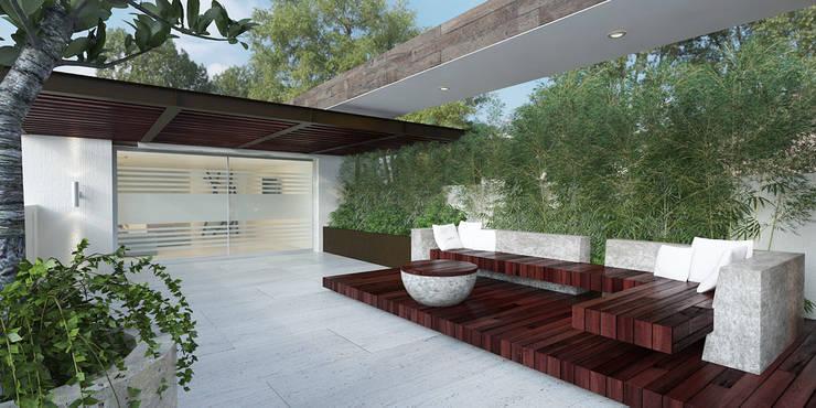TERAZA Balcones y terrazas minimalistas de 9.15 arquitectos Minimalista