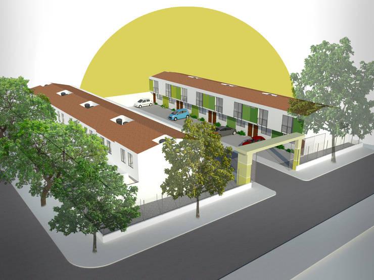 Proyecto Residencial Los Albores: Casas de estilo  por Polygon Arquitectura