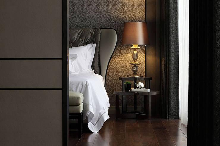 【C House】:  臥室 by 天坊室內計劃有限公司 TIEN FUN INTERIOR PLANNING CO., LTD.