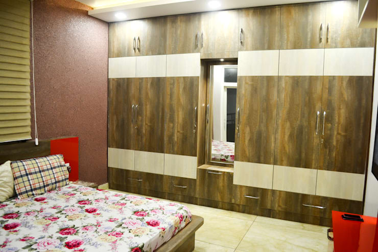 complete projects:  Bedroom by Able interior