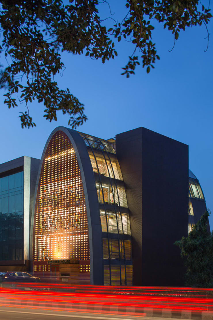 The Digit:  Office buildings by Anagram Architects