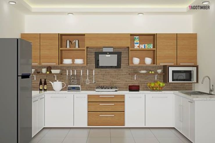 Modular Kitchen 1:  Commercial Spaces by Yagotimber.com
