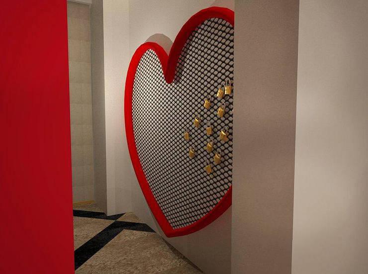 WINE BAR: Bares e clubes  por EGO Interior Design
