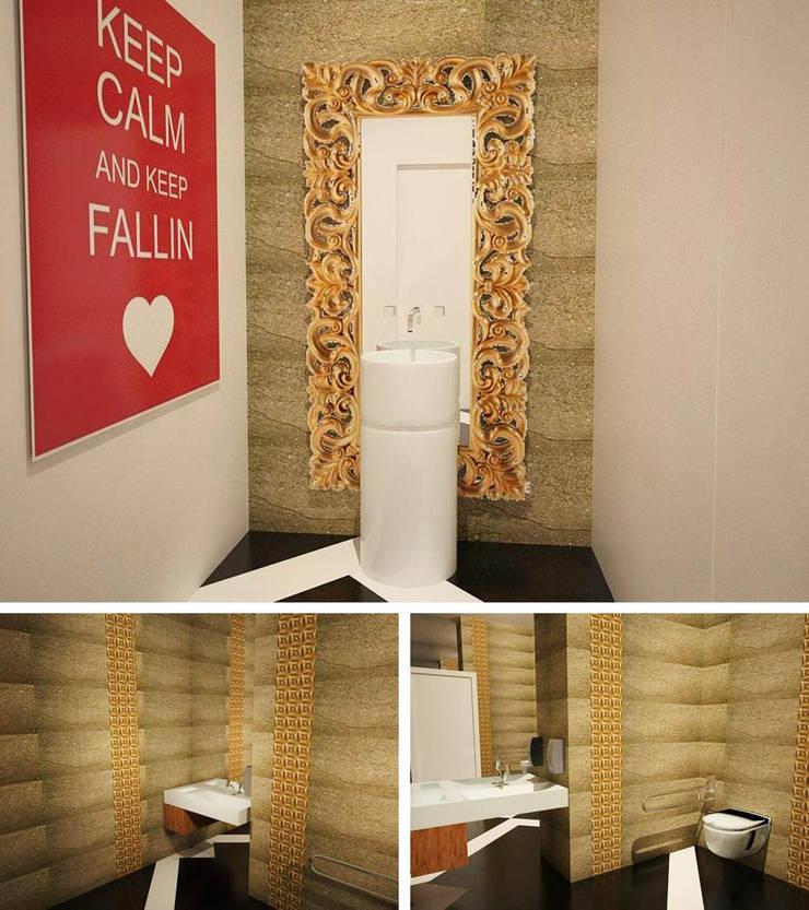 WINE BAR - Casa de Banho: Bares e clubes  por EGO Interior Design