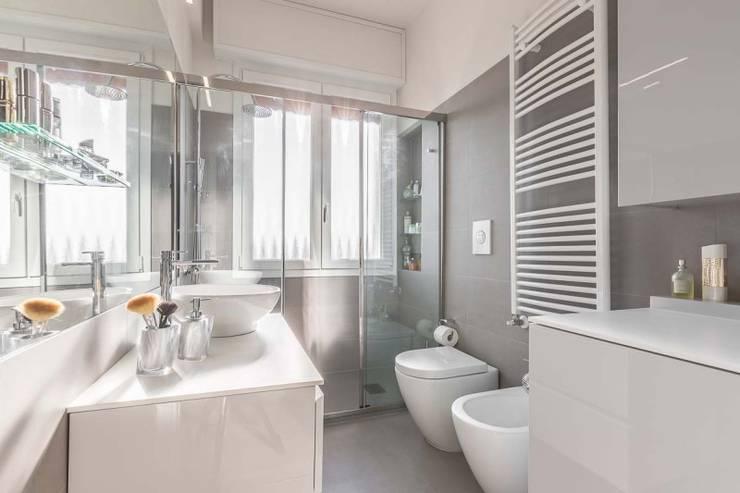 Vasche Da Bagno Rettangolari Moderne : 37 bagni moderni con docce magnifiche progetti italiani