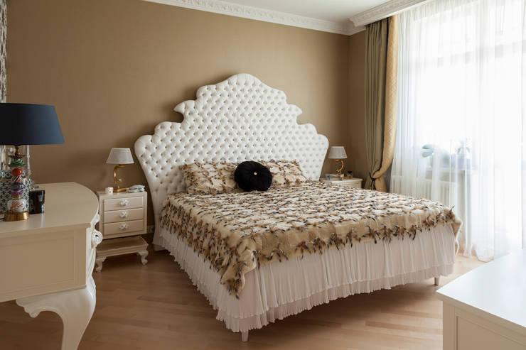 Квартира 105 м2 / Appartment in light classic style:  в . Автор – p