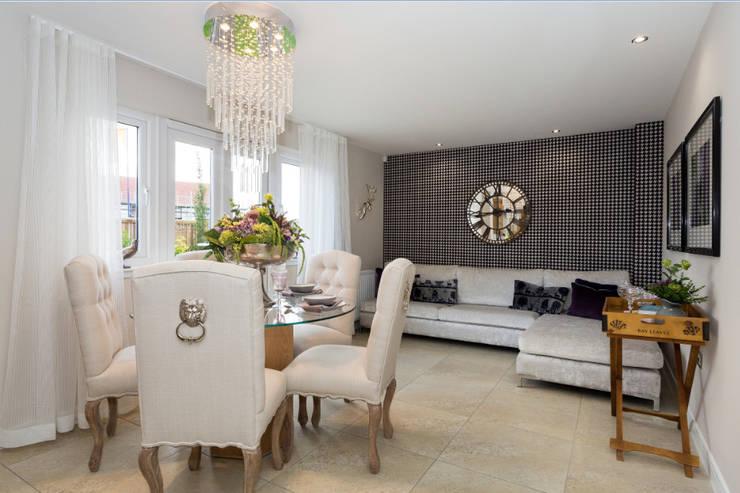 غرفة السفرة تنفيذ Graeme Fuller Design Ltd