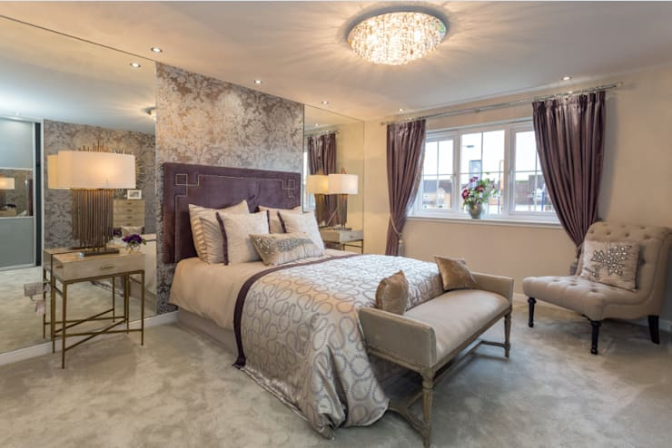 Bedroom by Graeme Fuller Design Ltd