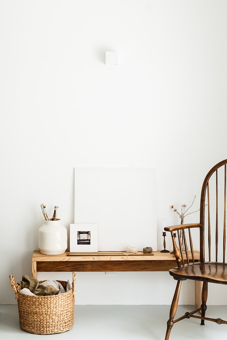 Study/office by Arkstudio, Rustic