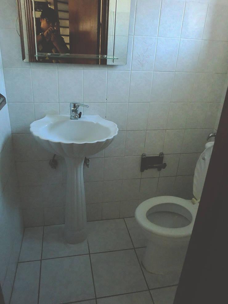 Instalações sanitárias - Antes:   por HC Construções