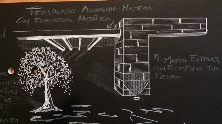 Renovación casa de las lomas de CESAR MONCADA S