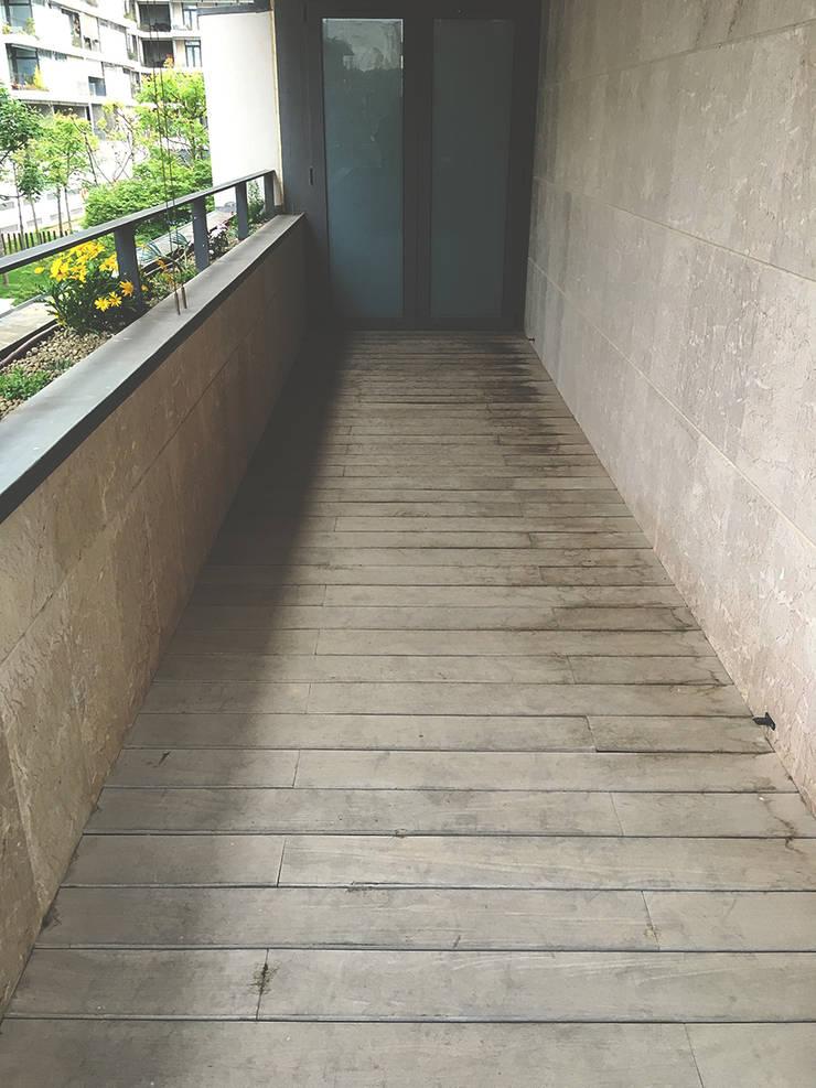 Varanda - Antes:   por HC Construções