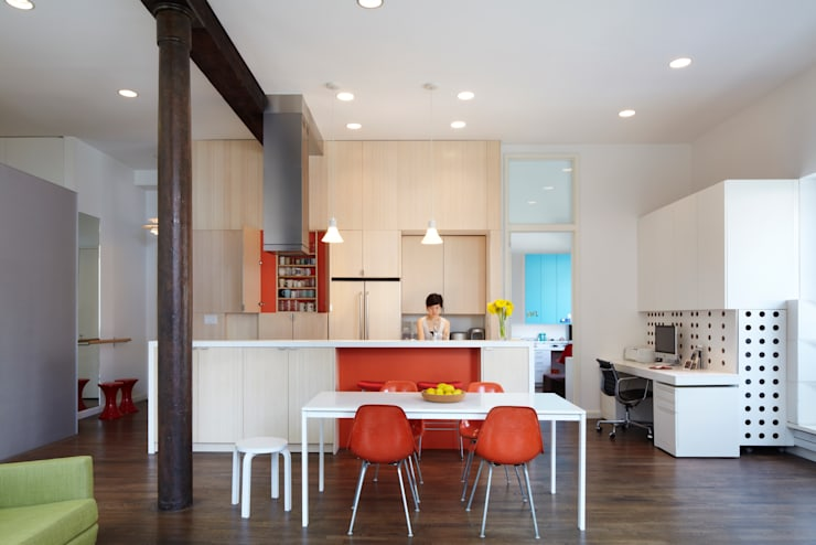 Bento Box Loft, Koko Architecture + Design:  Kitchen by Koko Architecture + Design