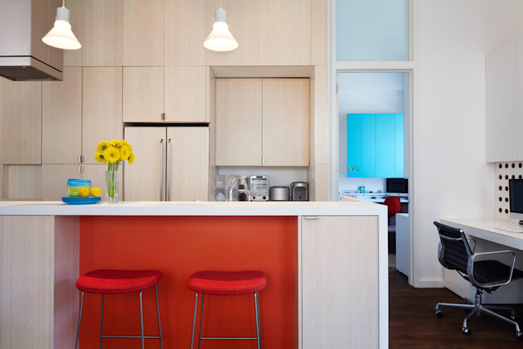 Bento Box Loft, Koko Architecture + Design:  Kitchen by Koko Architecture + Design