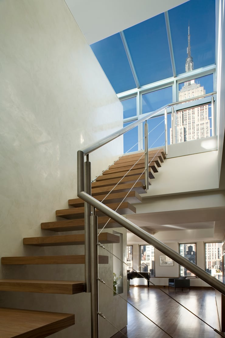 Empire State Loft, Koko Architecture + Design:  Corridor & hallway by Koko Architecture + Design