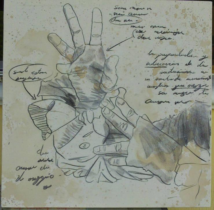 Estudio sombrerero 4: Arte de estilo  por ANTAVIA WALL DECOR