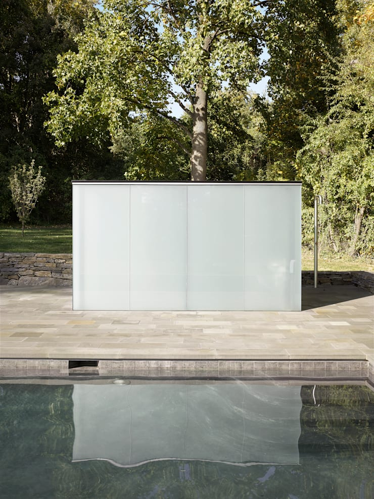 Dangle Byrd House, Koko Architecture + Design:  Pool by Koko Architecture + Design