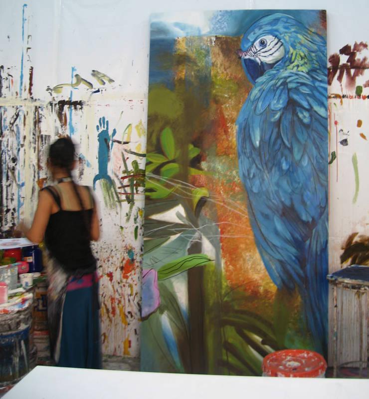 Sección de mural: Arte de estilo  por ANTAVIA WALL DECOR
