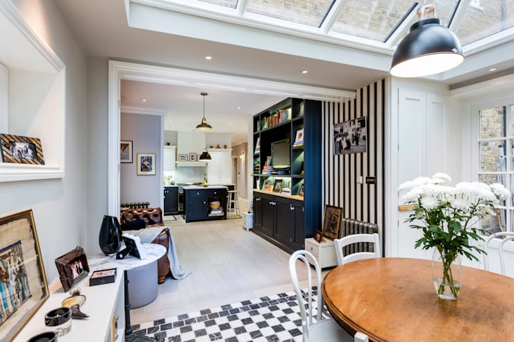Dining: classic Dining room by GK Architects Ltd