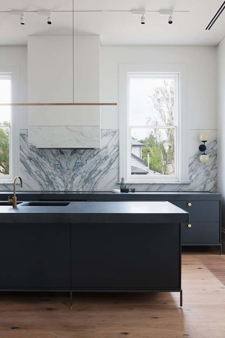 Remodelación Casa: Cocinas de estilo  por casas eco constructora