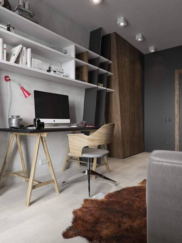 Remodelación Casa: Estudios y oficinas de estilo  por casas eco constructora