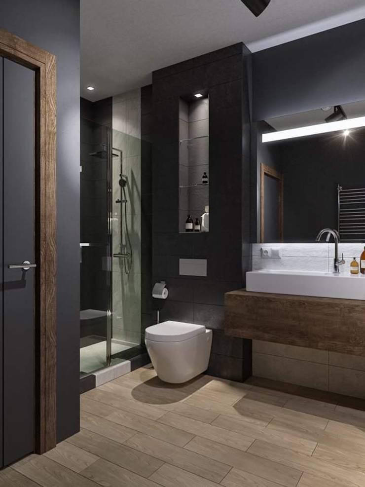 Remodelación Casa: Baños de estilo  por casas eco constructora